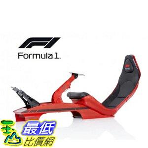 玉山最低比價網 [9美國直購]  賽車模擬套組  PLAYSEAT F1 SINGLE SEATER FORMULA SIM RACING CHASSIS IN RED