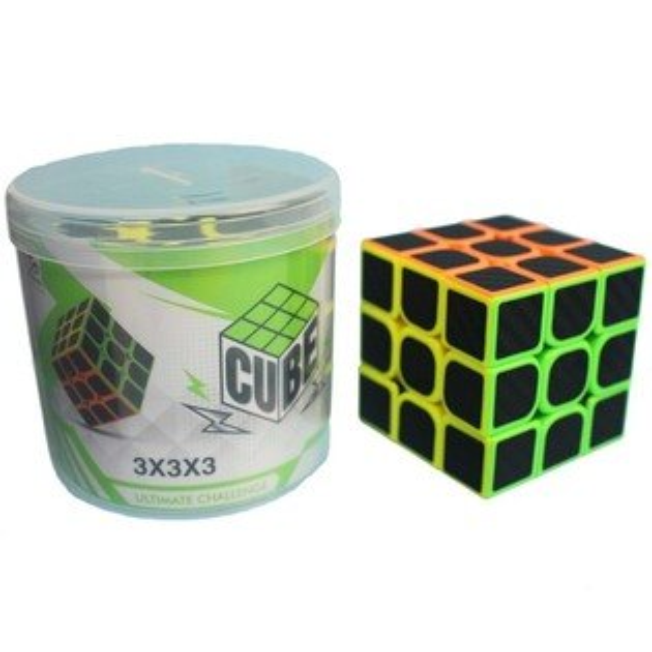 CUBE三階競技魔術方塊桶裝(防滑5.7cm)一個入{定100}三階魔方3x3x3比賽專用魔方~首555-2