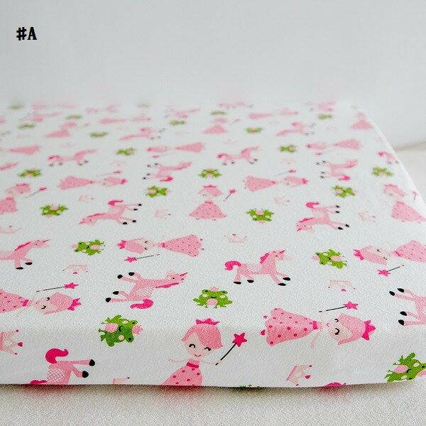 嬰兒【精梳棉】床包。嬰兒床單。嬰兒床罩-A小公主