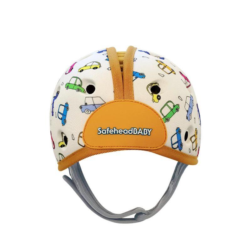 英國Safehead Baby 幼兒學步防撞安全帽-噗噗汽車5060388120825★愛兒麗婦幼用品★