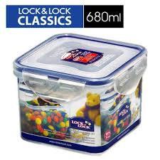 🌟現貨🌟樂扣樂扣CLASSICS系列保鮮盒/正方形680ML(HPL851) 樂扣保鮮盒 680ML 樂扣PP保鮮盒 收納盒