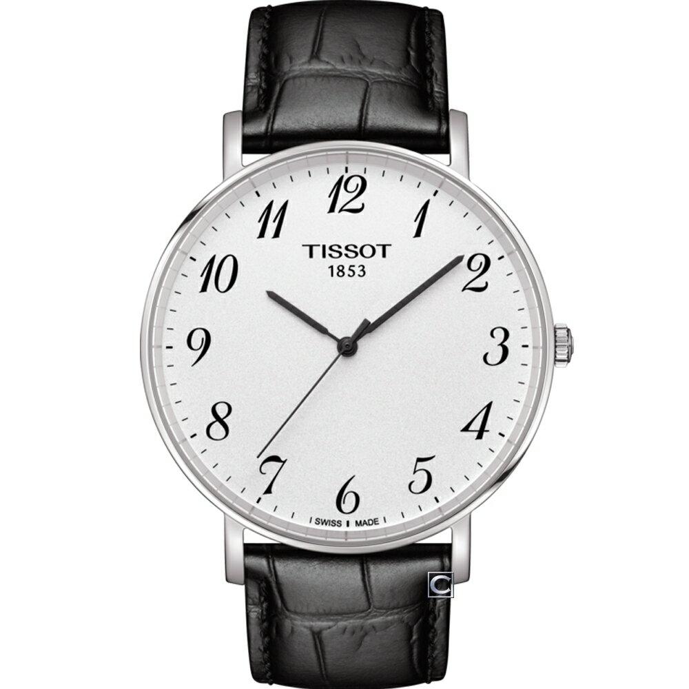 TISSOT天梭Everytime經典時尚腕錶 T1096101603200 0