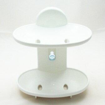 【珍昕】 日式湯川雙層皂盒(附吸盤)/ 香皂盒