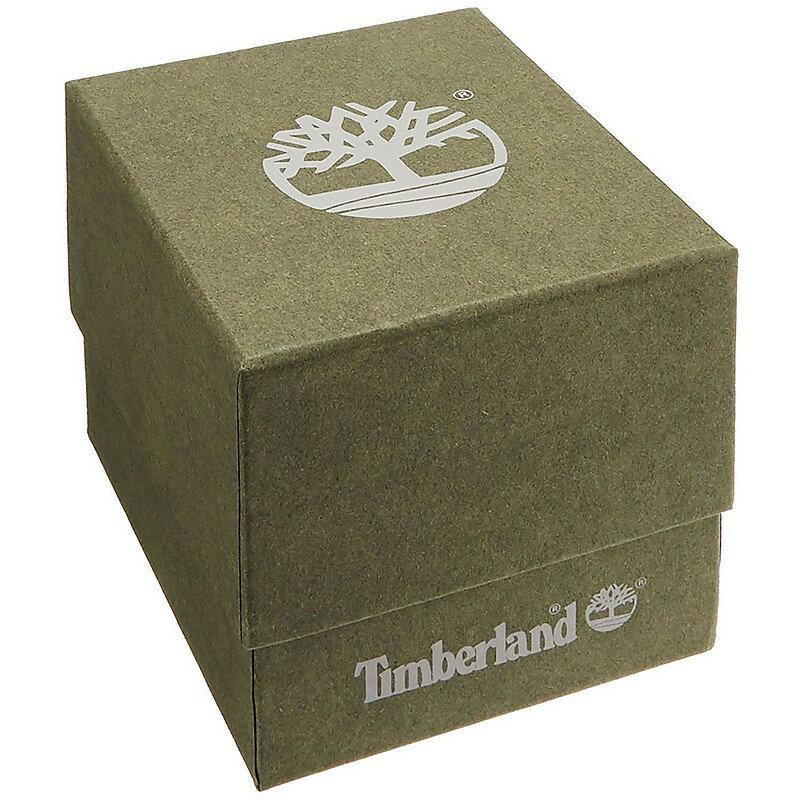 Timberland 天柏嵐 型男皮革時尚手錶 -TBL.15516JS / 03 藍  / 46mm 1