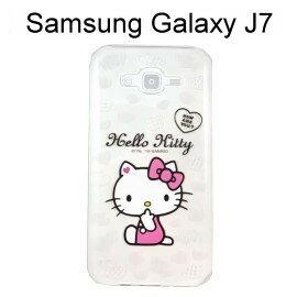 Hello Kitty 透明軟殼  問候  Samsung Galaxy J7 J700F