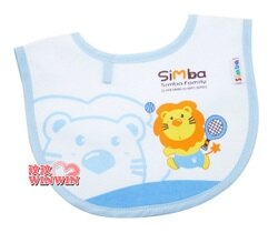 小獅王辛巴( NO:7408) 小圍兜 - 網球 防水加工處理-隨時保持乾淨清潔
