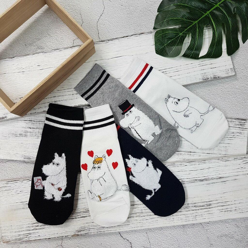 【現貨⭐嚕嚕米熱賣】韓國襪子 高質感 嚕嚕米系列棒球短襪 超夯 正韓 中筒 2