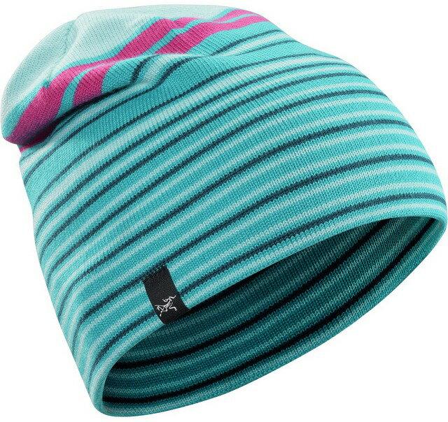 Arcteryx 始祖鳥 保暖帽/毛帽/滑雪/登山/旅遊/背包客 Rolling Stripe 15222 羊毛保暖帽 漂流者綠Arc\