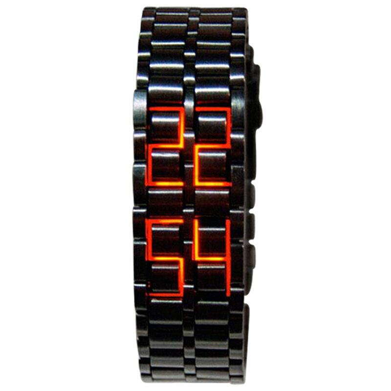 創意熔岩led防水熱賣手錶