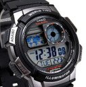 手錶卡西歐 運動防水多功能電子表A