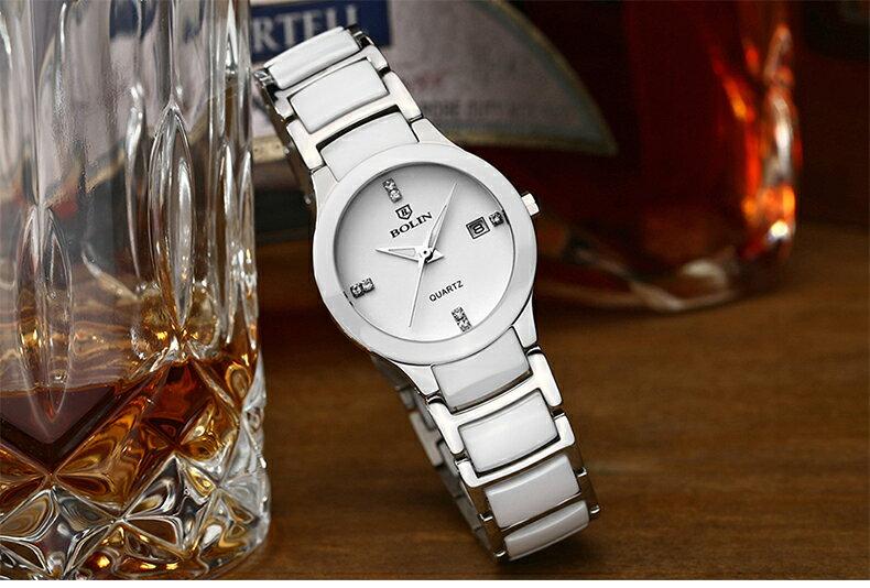 瑞士正品 情侶手錶 石英錶 十天預購