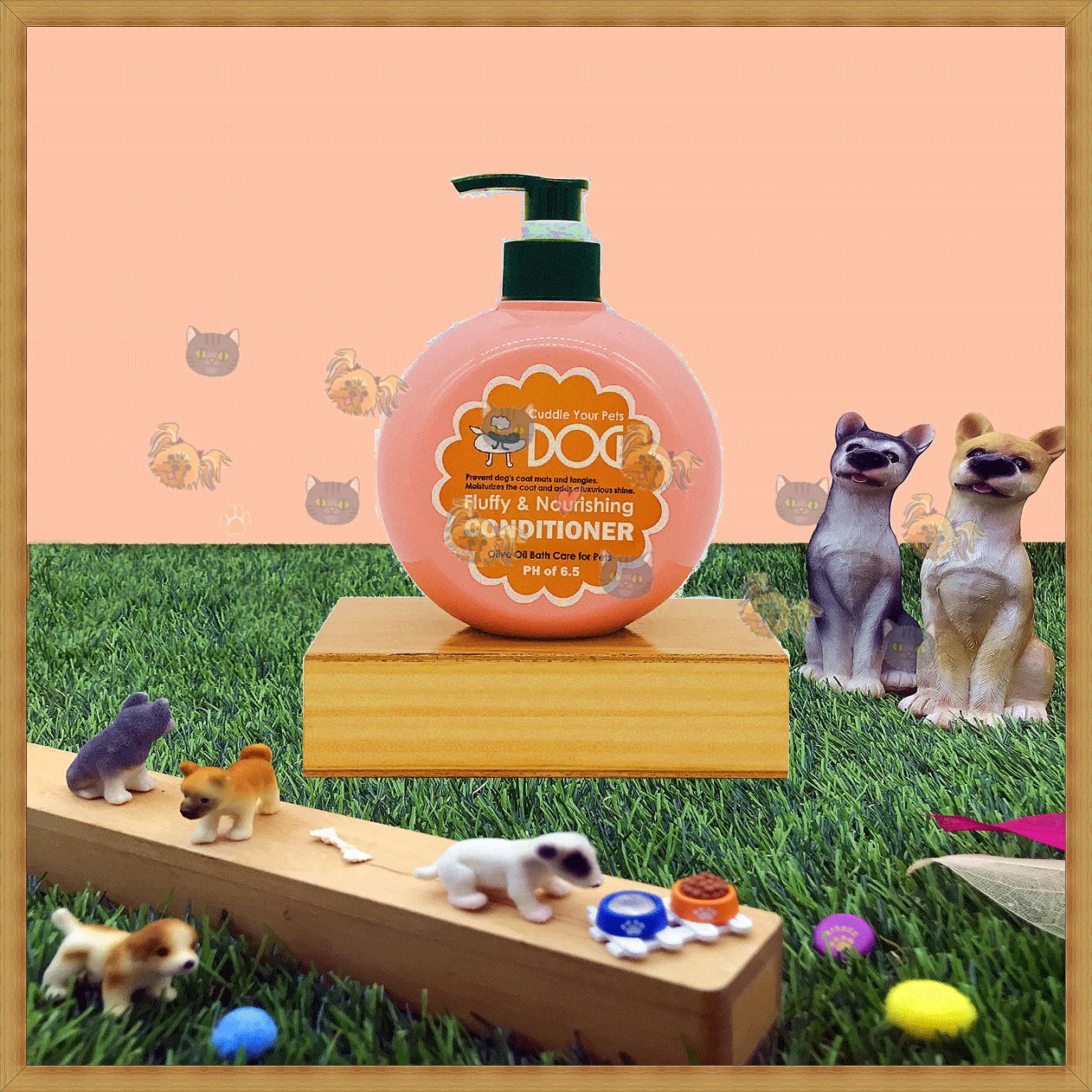 ♥珍寵♥ 拍拍狗 橄欖油氧系列-雙重護 420ml 5種機能 皮膚調理 護毛抗靜電 犬貓適用 0
