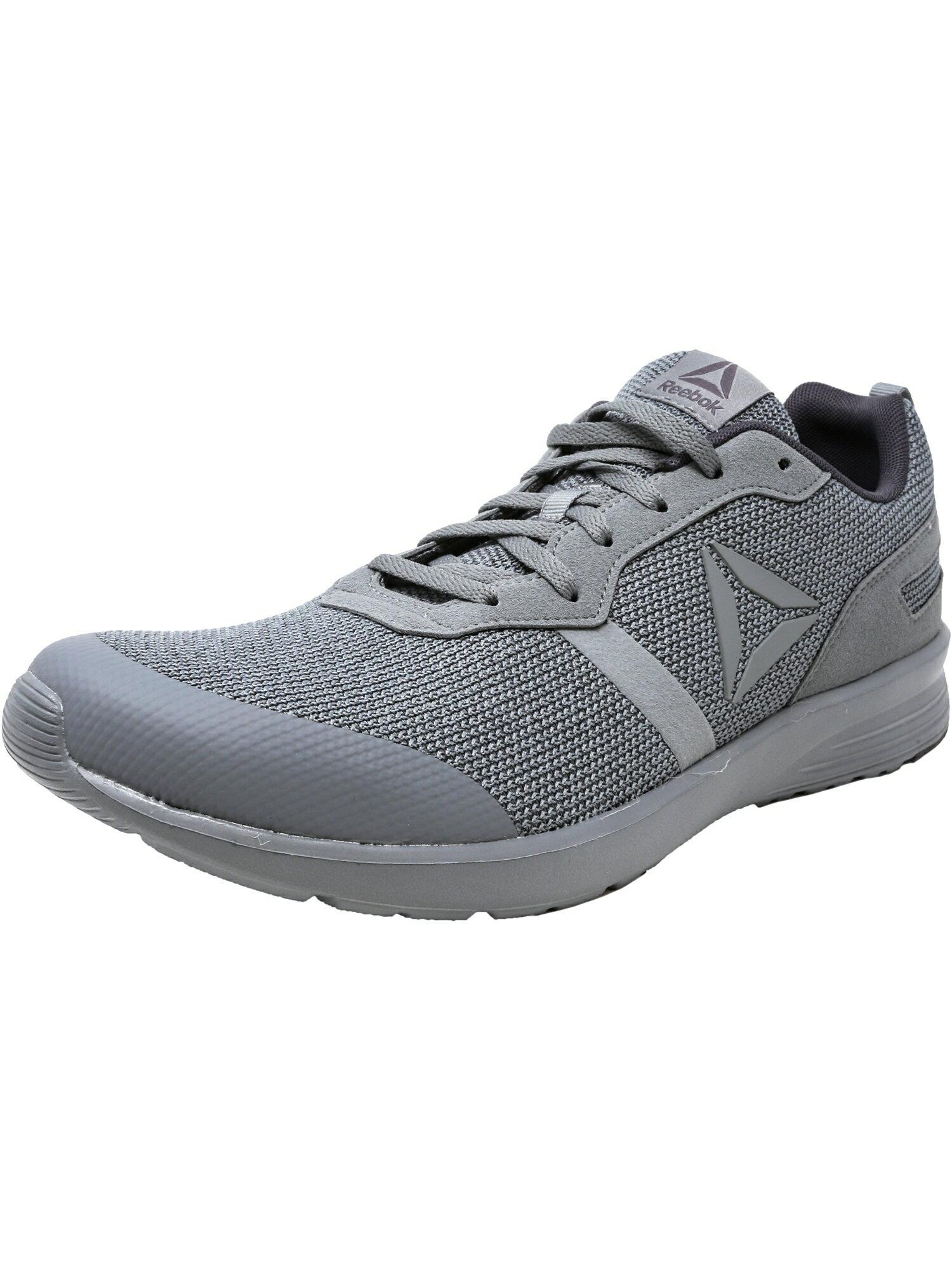 17444a0cd219a Reebok Men s Foster Flyer Flint Grey   Ash White Ankle-High Running Shoe 0