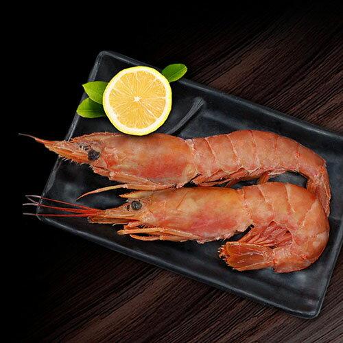 【築地一番鮮】刺身用頂級XL巨無霸天使紅蝦1包(1kg/包/約15尾3尾)