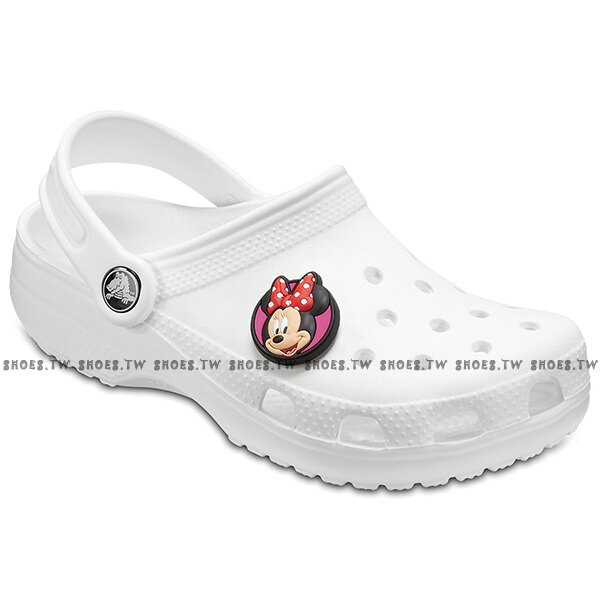 Shoestw CROCS 鞋扣 裝飾鞋扣 布希鞋裝飾 米奇 米妮 M蝴蝶結 麥昆 蜘蛛人 7