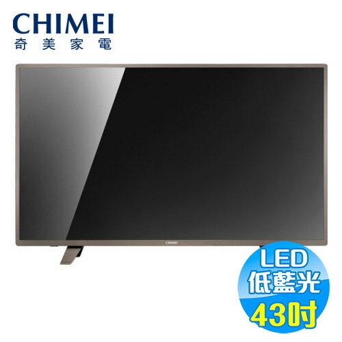 奇美 CHIMEI 43吋 低藍光 FHDLED液晶電視 TL-43A300