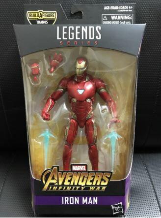 (戰神本舖  正版現貨) Marvel Legends 復仇者聯盟3 無限之戰 鋼鐵人 馬克50 Mk50 6吋 可動