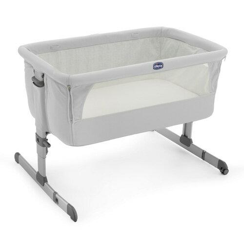 ChiccoNext2Me多功能移動舒適嬰兒床-雪銀白【悅兒園婦幼生活館】