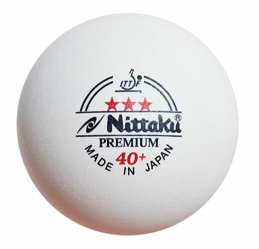 【登瑞體育】Nittaku Premium 3 Sta 40+桌球3入裝 NT3STAR