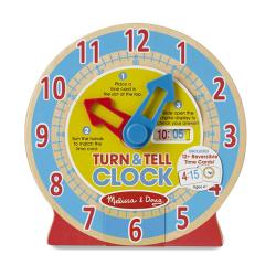 美國瑪莉莎 Melissa & Doug 益智-學習認知時鐘
