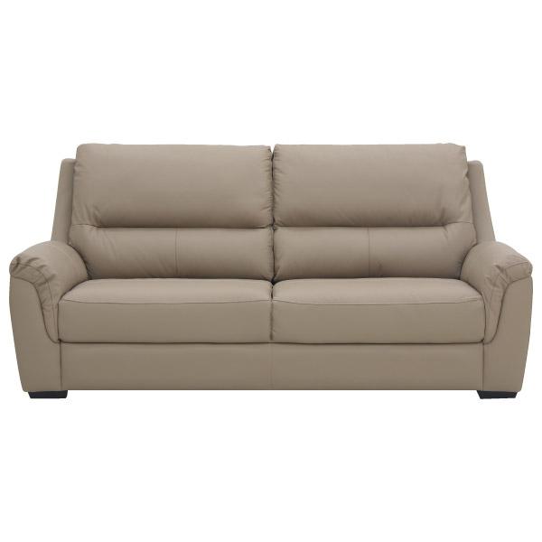 ◎(OUTLET)半皮3人用沙發 BEAZEL MO 福利品 NITORI宜得利家居 1