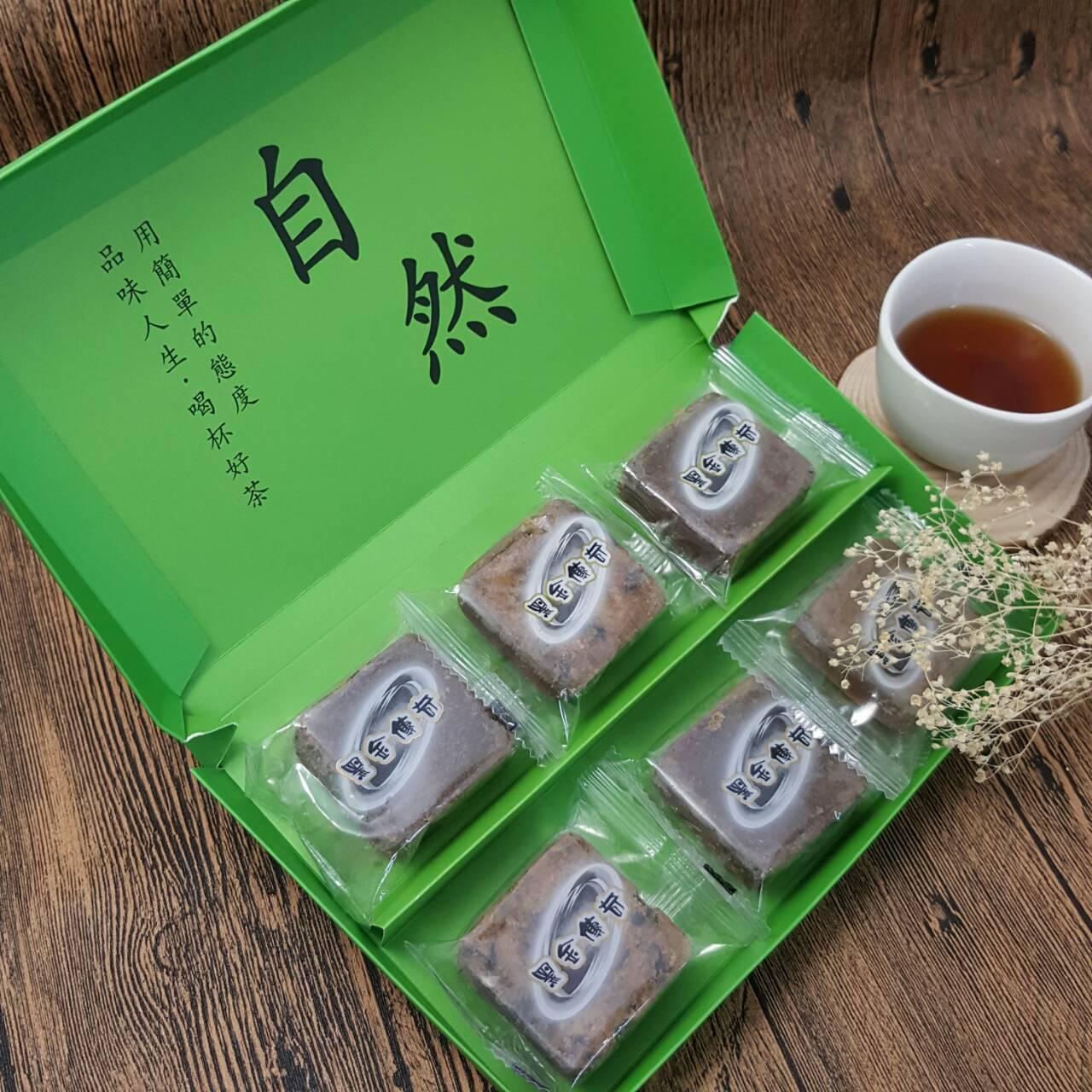 黑糖牛蒡茶(禮盒)大顆淨重210G 3