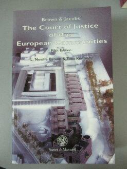 【書寶二手書T1/法律_OEN】The Court of Justice of the European Communities_L. Neville Brown, Tom Kennedy
