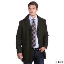 Kenneth Cole Men's Wool Blend Walker Coat男士大衣外套