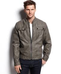 [美國精品櫥窗]Michael Michael Kors Larimer Faux Leather Moto Jackets正品 精緻皮革 精品 型男皮衣外套(S)