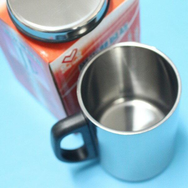 不鏽鋼鋼杯 愛來雙層保溫杯 350ml(盒裝)/一袋10個入(促99) AL45587 辦公杯加杯蓋-秉U29X001