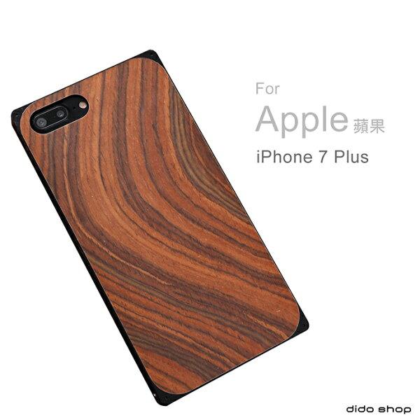 dido shop:iPhone7Plus木質金屬保護殼手機保護殼手機殼手機框(YD092)【預購】