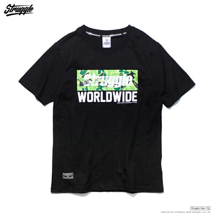 【StruggleGear】Struggle Worldwide TEE「黑綠」81615