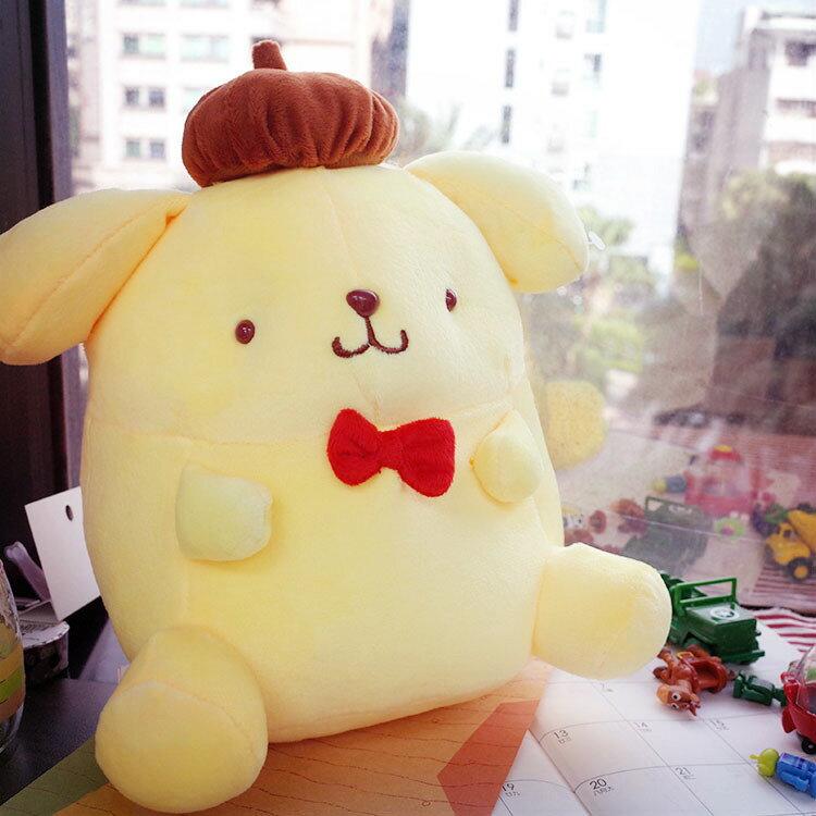 PGS7 日本三麗鷗系列商品 - 布丁狗 Pom Pom Purin 10吋 娃娃 玩偶 抱枕【SJB61217】