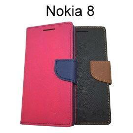 【MyStyle】撞色皮套Nokia8(5.3吋)