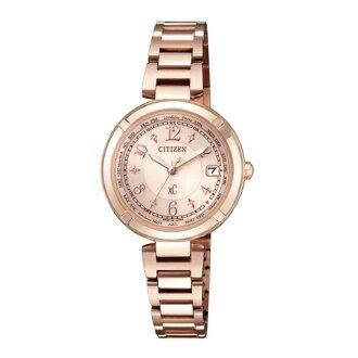 CITIZEN XC 優雅甜美計時時尚腕錶/EC1118-51W