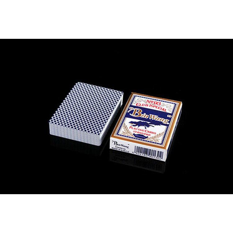 樸克牌 BWW外銷高級樸克 德國進口黑芯紙 國際賭場用牌 防作弊 耐折彈性好 不易變形 紙面細膩光滑 手感好