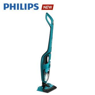 飛利浦 PHILIPS 3合1拖地吸塵器(FC6404)送矽藻土腳踏墊(白)