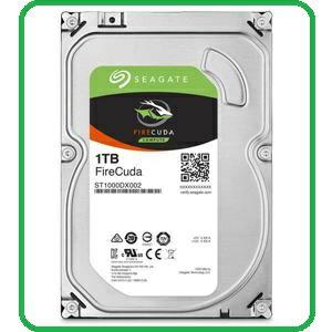 Seagate火梭魚FireCuda 1TB+8G SSD 3.5吋固態混合硬碟 ST1000DX002
