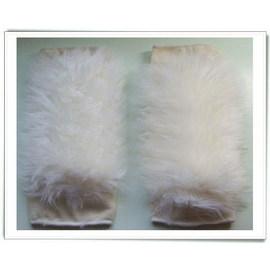 皮毛一體羊毛 保暖禦寒-直筒型(1對裝)