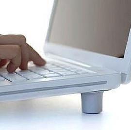 筆記本散熱墊 散熱腳墊 筆記本腳墊方便裝卸