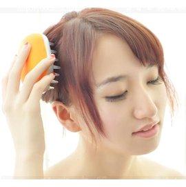 頭梳迷你按摩器 頭部按摩頭皮保健梳子 電動震動器-7701001