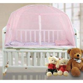 【下單完成付款5天內發貨,急要慎拍】蒙古包 嬰兒折疊蚊帳 嬰兒床蚊帳 帶支架 寶寶蚊帳-7701002