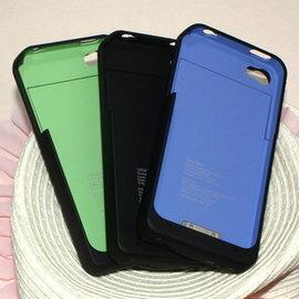 蘋果iphone4便攜外掛電池 背夾電池 移動電源 充電器 1900MAH配件-5601001