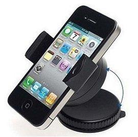 袖珍雙360度旋轉汽車手機架車載手機支架 iphone4S小米車用手機座~5201001