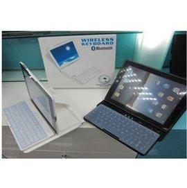 IPAD2 無線藍牙鍵盤皮套 IPAD3鍵盤 支架保護套 360°旋轉-5201002