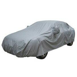 防水防雨車套 雙層內置棉絨加厚車衣 汽車車衣 車罩 帶防風帶-5201003