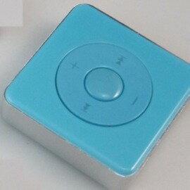 方型插卡跑步運動MP3播放機方糖螢幕插TF卡-5601007