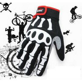 【全指手套-L004】自行車手套騎行手套全指山地車矽膠保暖-5501001