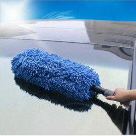 納米超纖維 伸縮式洗車除塵車撣 蠟拖 擦車拖把 車刷汽車清潔用品-5201005