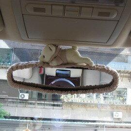 小熊系列 卡通後視鏡套 內視鏡套 汽車內飾 汽車用品 車飾-5201006